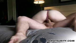A very super hot brunette fledgling  gf  homemade hardcore activity  with fellatio and poke  ending Thumb
