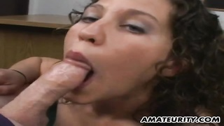 Amateur girlfriend blowjob and titjob with facial Thumb