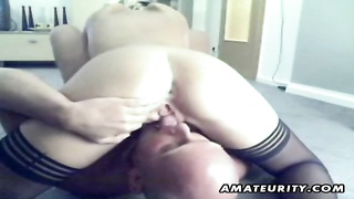 A very molten blonde inexperienced gf  homemade 69 fellatio and vulva, ending with a brilliant ravag Thumb