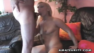 A very warm amateur homemade foursome xxx  action with oral job and smash ending with a double bj an Thumb