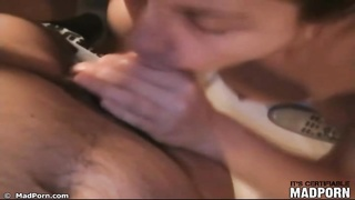 Evening deep throat and titjob for her boyfriend Thumb