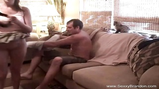 Fun On The Couch With GF Thumb