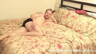Couple gets horny and fucks in homemade porn Thumb