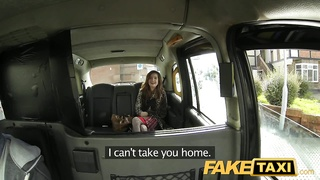 FakeTaxi - Red head fucked in slut hatch Thumb