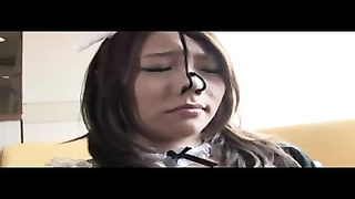 Japanese chicks love to gag on lots of chisels Thumb