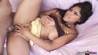 Mexican babe Laurie Vargas gets ass-fuck  hookup Thumb