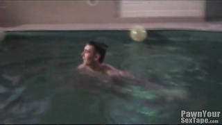 naked teenage  goes swimming and takes a shower Thumb