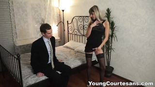 youthful Courtesans - Dressed up for a client 2 Thumb