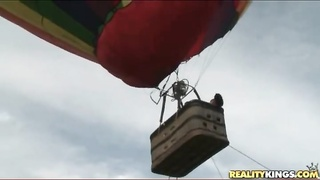 warm slut deep throats off a monster on molten air balloon Thumb