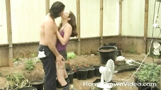 couple in the garden has super hot oral sex Thumb