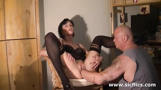fledgling  wife loves a huge going knuckle deep  climax Thumb