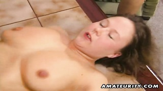 2 super hot inexperienced faded housewives homemade three-way xxx  action with pussy toying, blowage Thumb