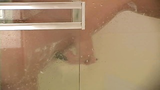 leg shaving bare blondie in the shower Thumb