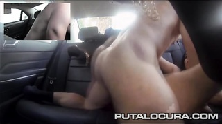 hookup in the backseat with a tattooed latina dame Thumb