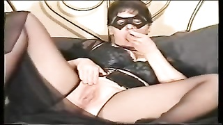 chick squirt nylons and a mask Thumb