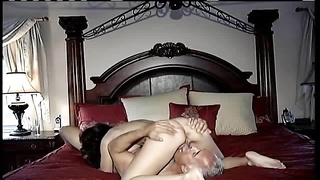 cougar man and his spectacular wifey  plow and deep-throat Thumb