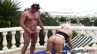A very naughty amateur mummy  homemade xxx  activity  with epic ass-fuck  screwing act and steamy su Thumb