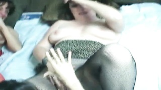lesbo ladies in remarkable  knickers  liking  their orgy Thumb