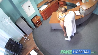 FakeHospital Horny sexy blonde patient raise the temperature Thumb