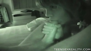 Night vision blowage  with a teenage cutie Thumb