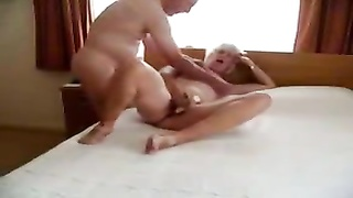 Stolen video of my kinky old mum with daddy Thumb