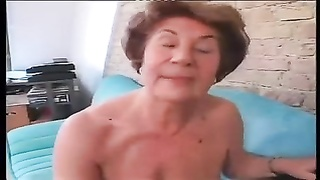 high German old lady in tough anal sex with youthfull  guy Thumb