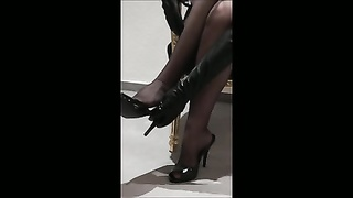 doll  DARLIA tiring -Nylons and Heels- Thumb