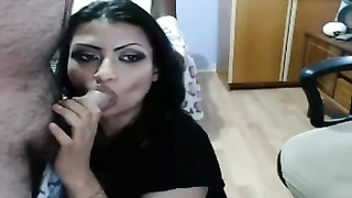 gorgeous Indian wifey  - wanna deep-throat Out Thumb