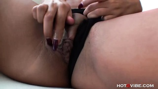 Naturally huge-boobed  East Indian woman Orgasms Thumb