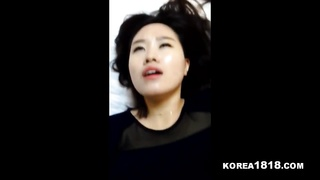 KOREA1818COM. - tidy fantastic Korean doll  loves to deep-throat and Fuc Thumb