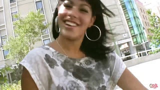 PUTALOCURA latina picked up on the street and tears up for cash Thumb