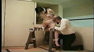 Japanese video 343 Document BDSM wifey  seek information from torment Thumb