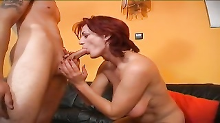 Hungarian amatuer sex -Mom and NOT her son Thumb