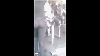 The greatest  Voyeur Trasparent ass in the Gymn Thumb