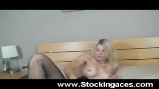 Busty Blonde Fucks Her Ass Thumb