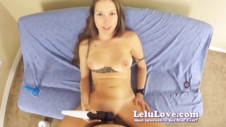 Lelu Love-POV BJ Missionary Doggystyle Cum On Ass Thumb
