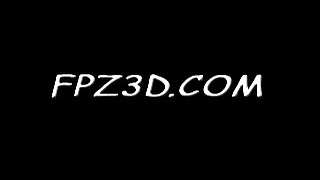 FPZ3D S vs G 3D Toon Fistfight Catfight Big Tits One-Sided Thumb