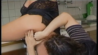 Housewife in lingerie ass fucked Thumb