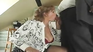 Housewife sucks hubby and fucked by son Thumb