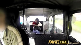 FakeTaxi UK chav gets her ass spanked and pussy pounded Thumb