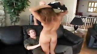 Hubby watches spanked wife get ass fucked Thumb