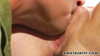 Amateur girlfriend anal action with facial cumshot 2 Thumb