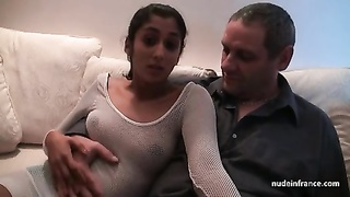 Young french indian analized and jizzed for her sextape Thumb