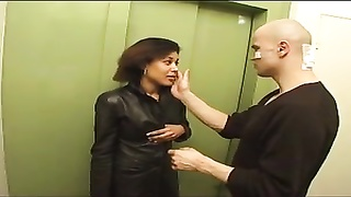 Latina in Leather gets loud - bostero Thumb