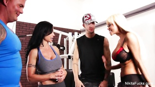 Nikita Von James Workout 4some Thumb