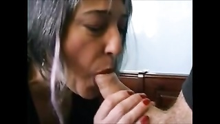 French Pierced granny analyzed by the plumber Thumb