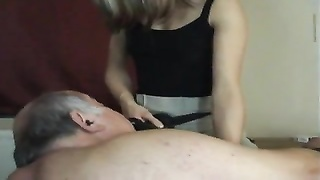 young horsewoman and old slut Thumb
