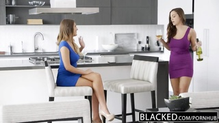 BLACKED Wives Abigail Mac and August Ames Love Big Black Cock Thumb