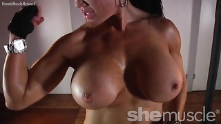 Samantha Kelly Huge Boobs Workout Thumb