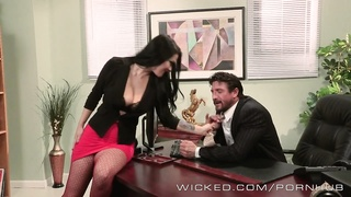 Wicked - Katrina Jade gets fucked by her boss Thumb